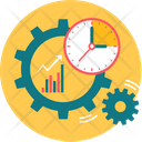 Business Setting Timing Icon