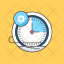 Time Management Timer Icon