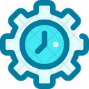 Time Management Efficiency Productivity Icon