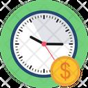 Time Money Finance Icon