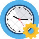 Timing Setting Gear Icon