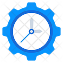 Time Management Time Keeper Time Setting Icon
