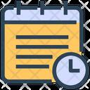 Seo Calendar Time Management Icon