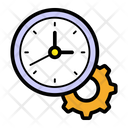 Time Management Time Setting Timekeeper Icon