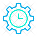 Product Management Product Manufacturing Time Product Development Time Icon