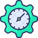 Time Management Management Clock Icon
