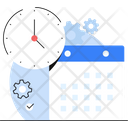 Timetable Time Management Calendar Icon