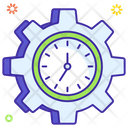 Time Management Time Setting Time Options Icon