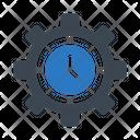 Time Management Development Icon