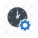 Time Management Setting Icon