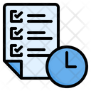 Time Management Time Productivity Icon