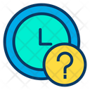Time Management Time Control Schedular Help Icon
