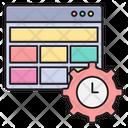 Deadline Management Webpage Icon