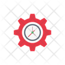 Management Setting Time Icon