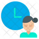 Time Management Work Icon
