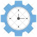 Time Efficiency Productivity Time Management Icon