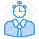 Time Management Time Clock Icon