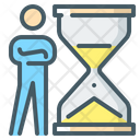 Time Management Hourglass Time Icon
