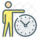 Time Management Time Deadline Icon