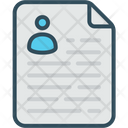 Time Management Paper Planning Icon