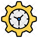 Time Management Time Setting Time Schedule Icon