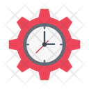 Management Time Office Icon