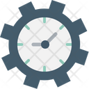 Clock Cog Seo Performance Icon