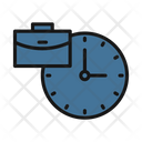 Time Management Schedule Time Organizer Icon