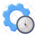 Time Management Time Setting Time Maintenance Icon