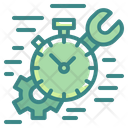 Time Management Fast Quick Icon