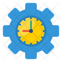 Time Management Setting Gear Icon