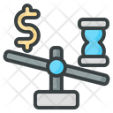 Time Management Balance Decision Icon
