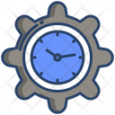 Time Management Time Service Time Maintenance Icon