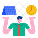 Time Management Management Manager Icon