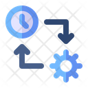 Time Management Plan Setting Icon