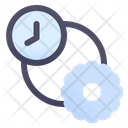 Setting Time Configuration Time Time Management Icon