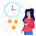Financial Time Business Time Time Management Icon