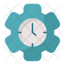 Time Management Productivity Efficiency Icon