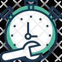 Time Management Chronometer Icon