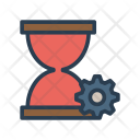 Time Management Hourglass Icon