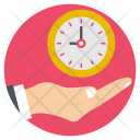 Time Management Timing Timely Icon