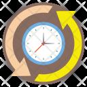 Around Clock Time Icon