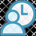 Businessman Management Timer Icon