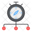 Time Network Clock Network Alarm Network Icon