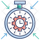 Time Optimization Seo Service Web Design Icon