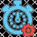 Time Optimization Time Clock Icon