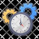 Time Optimization Time Management Productivity Icon