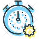 Time Optimization Statistics Service Icon