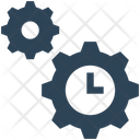 Seo Time Gears Icon