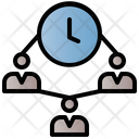 Time Organization Work Strategy Icon